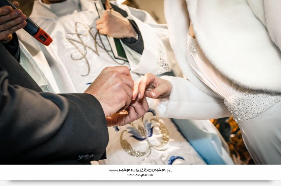 obrączki fotografia ślubna