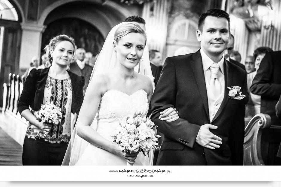 fotograf Warszawa podczas ceremonii ślubu