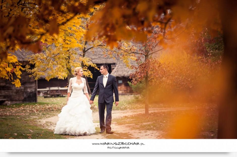 spacer nowożeńców
