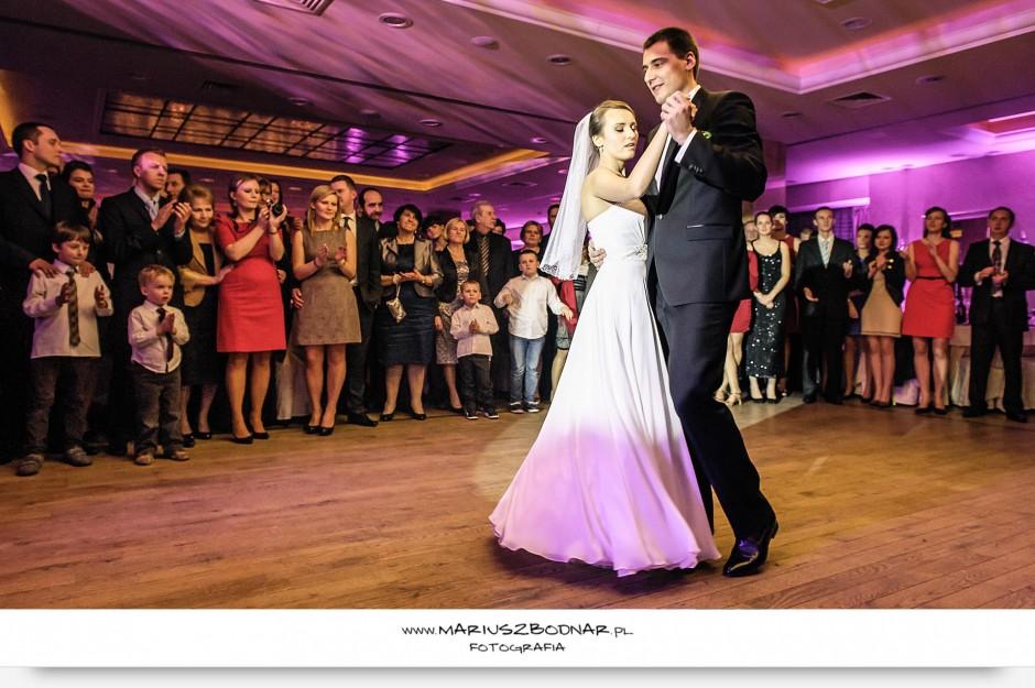 zdjęcia ślubne taniec