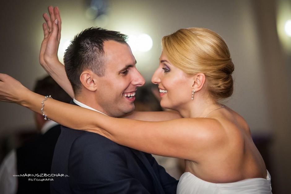 radość nowożeńców