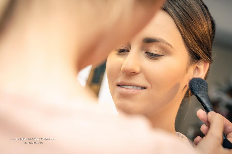 momenty przed ślubem